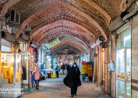 بیش از ۹۵ درصد بازار تبریز سنگفرش شد/ احیای هویت تاریخی پاساژ کوچهسی