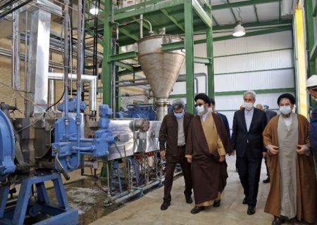 پروژه افزایش ظرفیت واحد تولید پلیاتیلن شرکت پتروشیمی تبریز افتتاح شد