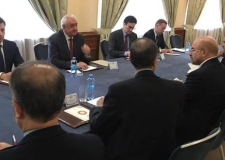 رئیس مجلس با دبیرکل اتحادیه اقتصادی اوراسیا دیدار کرد