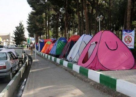 ممنوعیت چادر مسافرتی در نوروز ۱۴۰۰