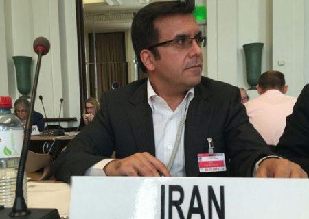 انتخاب مجدد نماینده ایران در شورای اجرایی تیر سازمان ملل