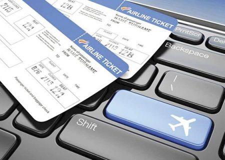 قیمت بلیت هواپیما تا پایان نوروز ۱۴۰۰ افزایش نمییابد