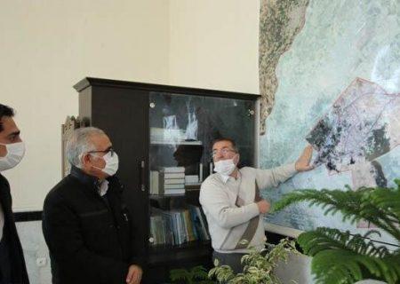 مشکلات حریم اراضی و طرحهای ترافیکی و عمرانی جنوب غرب تبریز بررسی شد