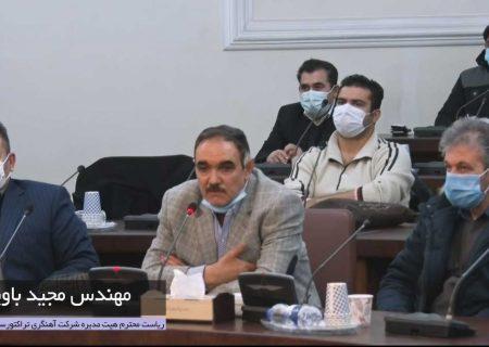 رئیس هیئت مدیره شرکت آهنگری تراکتورسازی ایران کارآفرین برتر شد