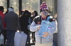 تصاویری از بحران آب و برق در قلب آمریکا