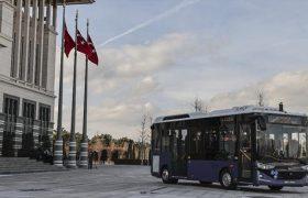 رونمایی از نخستین اتوبوس برقی بدون راننده در ترکیه