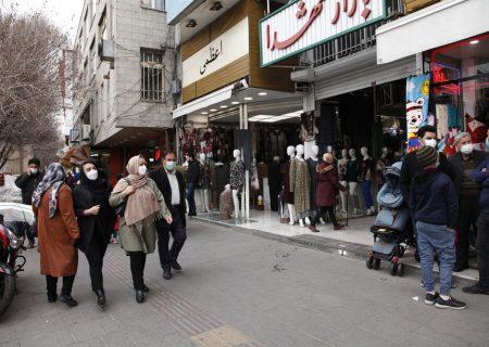 ساماندهی دستفروشان در محدوده بازار + عکس