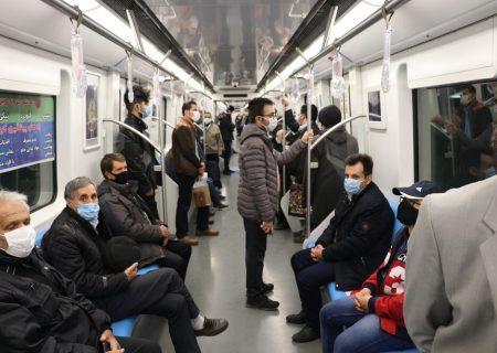 تعداد مسافرین مترو به ۱۰ هزار نفر در روز رسید