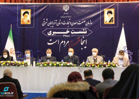 در عرض ۴۵ روز به خودکفایی تولید ماسک و مواد ضدعفونی دست یافتیم/ در تامین ماسک، ایران مدیون آذربایجان شرقی است
