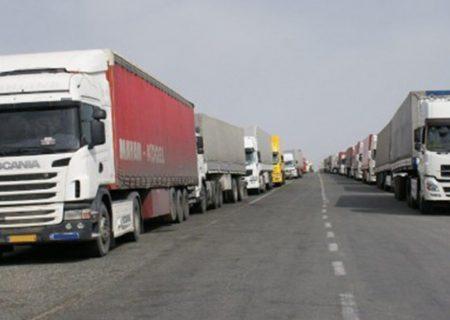 ۲۰.۵ میلیون تن بار از طریق ناوگان باری آذربایجانشرقی جابجا شد