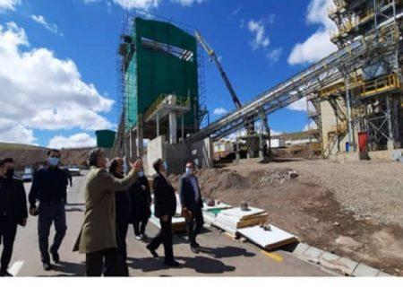 افتتاح کارخانه آهک هیدراته شهرستان اهر در هفتههای آینده