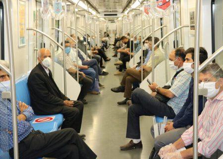 رعایت پروتکلهای بهداشتی در مترو تبریز الزامی است