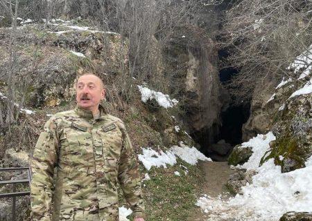 الهام علی اف: ارمنستان هزینه تمام خسارت های وارده به غار آزیخ را پرداخت خواهد کرد