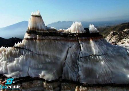 کشتی نوح در کوه نمکی خواجه در شمال غرب تبریز