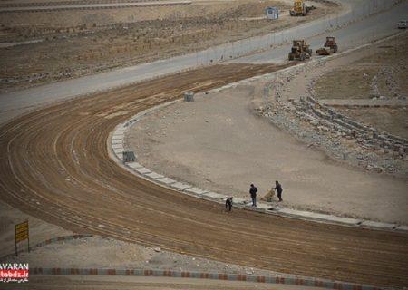 بهره برداری از فاز نخست کریدور شمال – جنوب شهرک خاوران به طول ۲/۵ کیلومتر