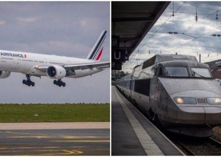 فرانسه؛ توقف پروازهای کوتاه داخلی برای کاهش آلودگی