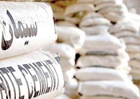 کشف ۲۵ تن سیمان احتکار شده در بناب