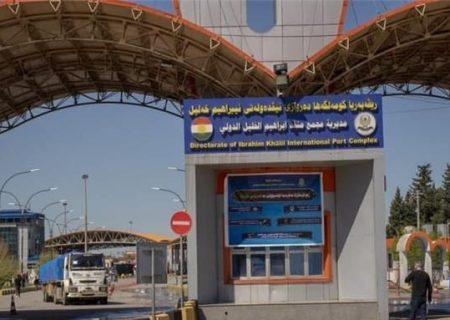 صادرات ترکیه به اقلیم کردستان و عراق در ۳ ماه اول میلادی
