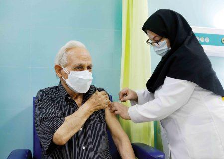 آغاز واکسیناسیون ۴۸ هزار نفر جمعیت بالای ۷۵ سال در آذربایجان شرقی