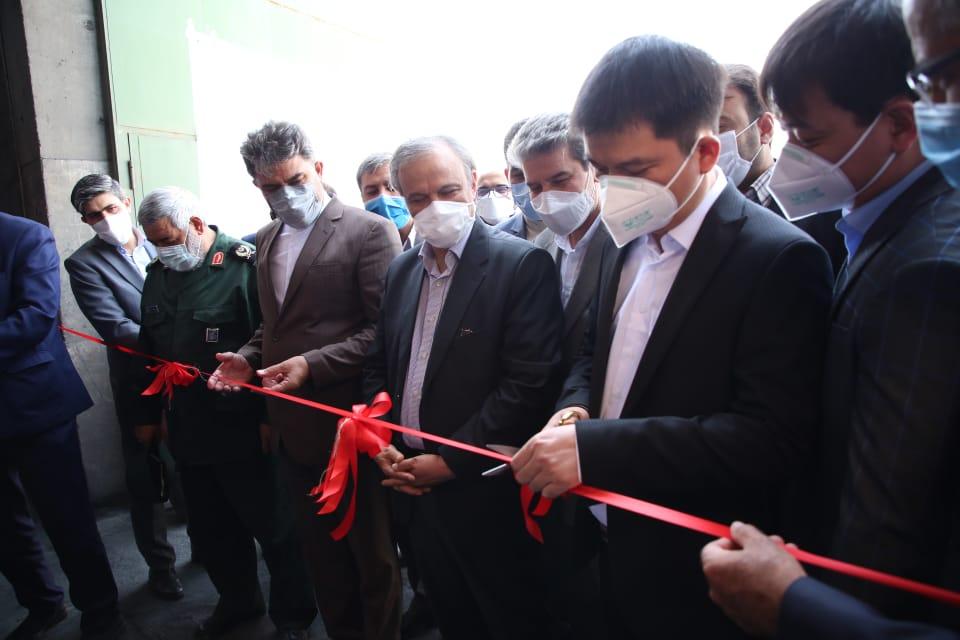 افتتاح واحد تولیدی شمش طلا و نقره در شهرستان خوی توسط وزیر صمت