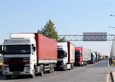 ناوگان حمل و نقل آذربایجانشرقی ظرف ۲ماه بیش از ۳.۵ تن بار جابهجا کرد
