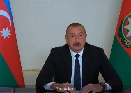 رئیس جمهور آذربایجان: ارمنستان از ارائهی نقشهی مناطق مینگذاری شده امتناع میورزد