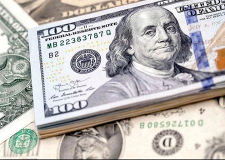 قیمت رسمی ارز/  دلار در آستانه سقوط به کانال ۲۲ هزار تومان