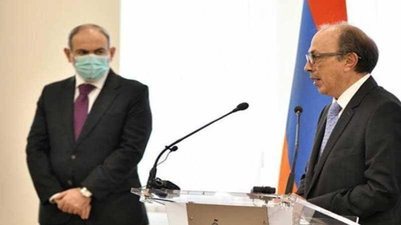 وزیر امور خارجه ارمنستان چرا استعفا داد؟