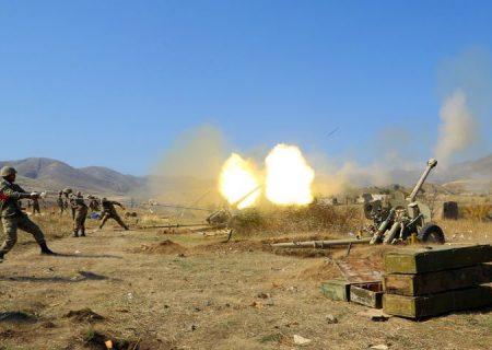 ارمنستان آتش بس را نقض می کند