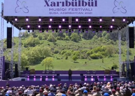 آغاز بکار جشنواره موسیقی خاری بلبل پس از ۳۱ یکسال وقفه در شوشا