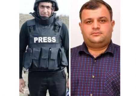 کشته شدن ۲ خبرنگار جمهوری آذربایجان در قره باغ