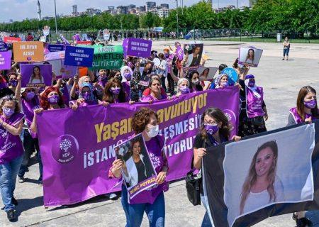 ترکیه؛ اعتراض زنان به سیاست اردوغان/ دلیل: خروج از کنوانسیون حامی زنان
