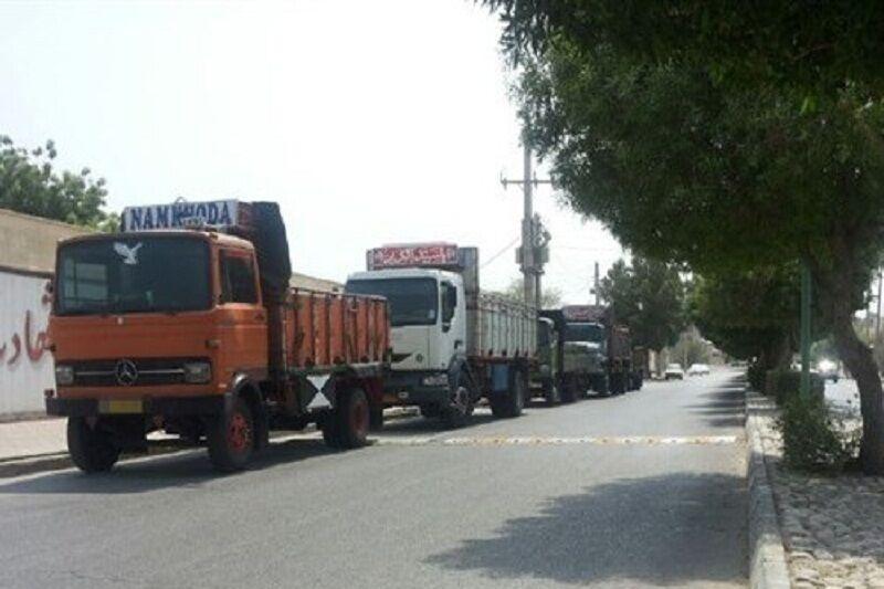 ۵.۳ میلیون تن بار توسط ناوگان حمل و نقل آذربایجانشرقی جابجا شد