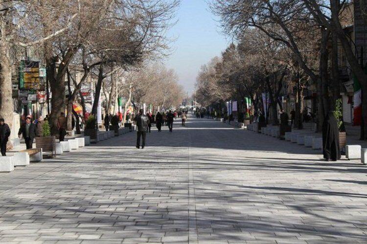 هشت پیادهراه در مناطق مختلف تبریز احداث میشود