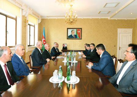 رئیس مجلس عالی جمهوری خودمختار نخجوان با وزیر راه و شهرسازی ایران دیدار کرد