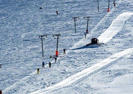 مشکلات پیست اسکی سهند برطرف میشود