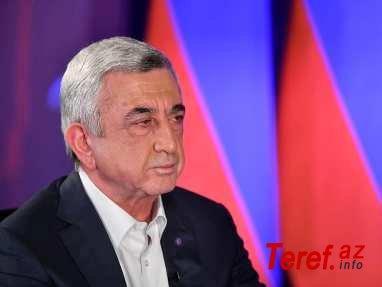 سرژ سرکیسیان: شما باید تصمیم بگیرید که قره باغ نزد ارمنی ها باقی خواهد ماند یا خیر