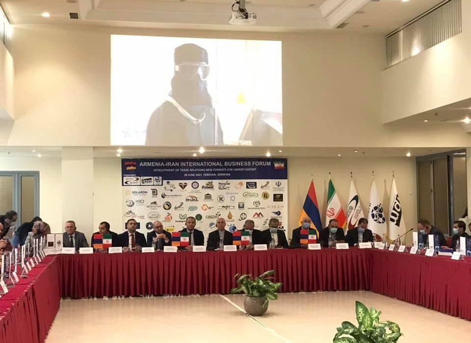 برگزاری مراسم گشایش مجمع تجاری ایران و ارمنستان