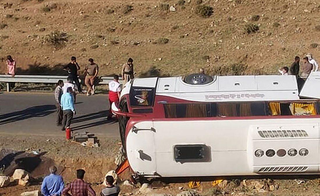 راهداری: تردد اتوبوس خبرنگاران ممنوع بود