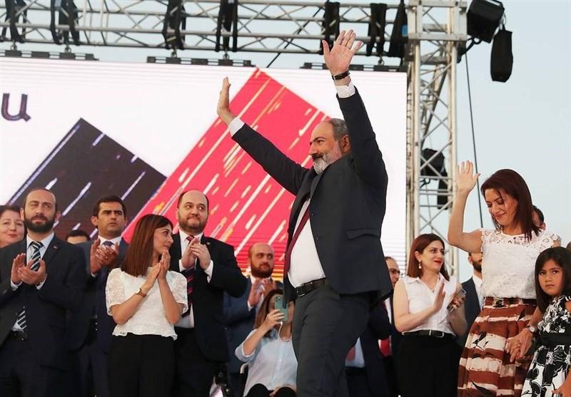 پیروزی «پاشینیان» در انتخابات ارمنستان تأیید شد