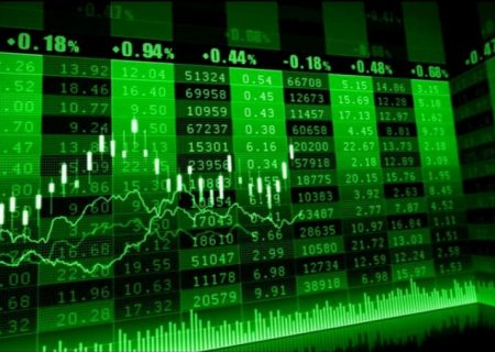 بازار بورس سبز شد