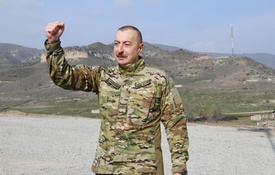 رئیس جمهور آذربایجان فرمانی در مورد شهر خانكندی امضا کرد