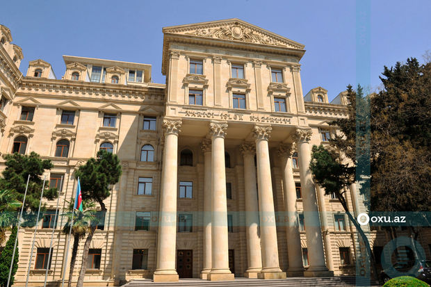 بیانیه وزارت امورخارجه آذربایجان در مورد تحریکات ارمنستان در مرز نخجوان