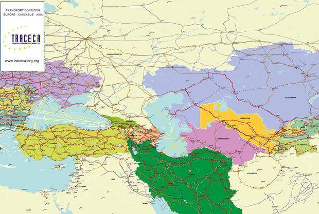 حجم محموله های ترانزیتی منتقل شده توسط آذربایجان از طریق تراسیکا اعلام شد