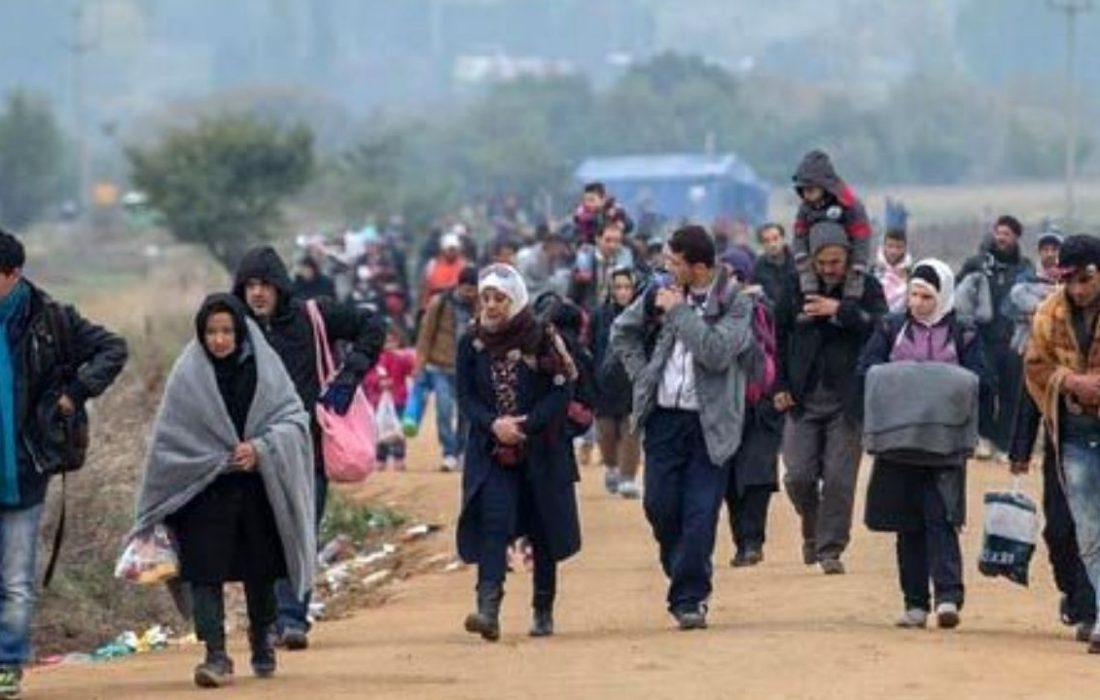 هجوم پناهجویان افغانستانی به مرزهای شرقی ترکیه