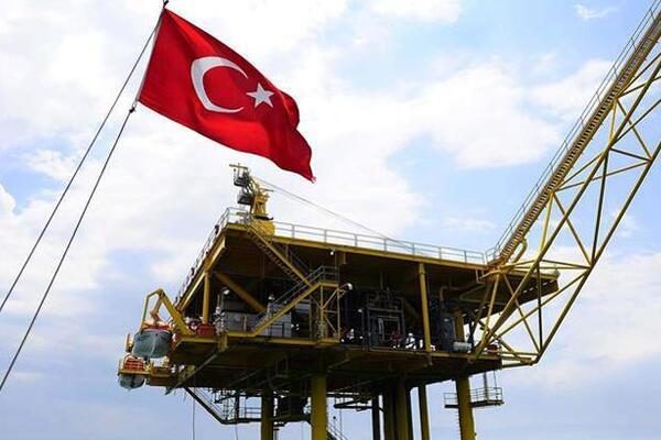 ترکیه به دنبال استخراج نفت از دریای مدیترانه
