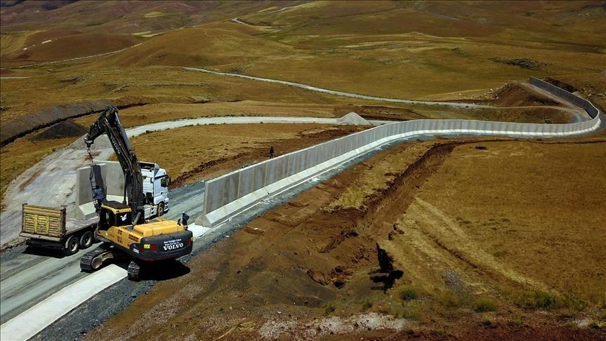 احداث دیوار امنیتی ترکیه در مرز با ایران