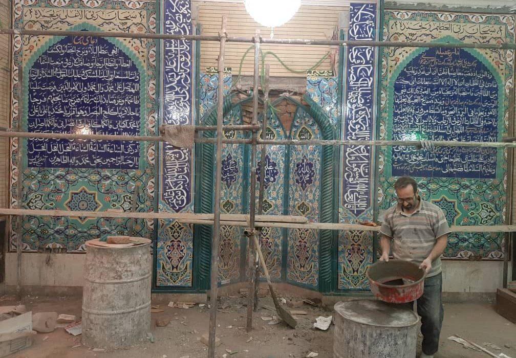 وداع مساجد با هنرمند تبریزی