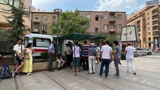 تنها ۲ درصد مردم ارمنستان واکسن کرونا زده اند