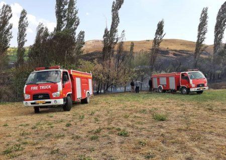 آتشسوزی به باغهای ارسون خلخال ۲ میلیارد تومان خسارت زد